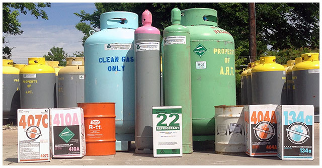 EPA-Certified Refrigerant Reclaimers